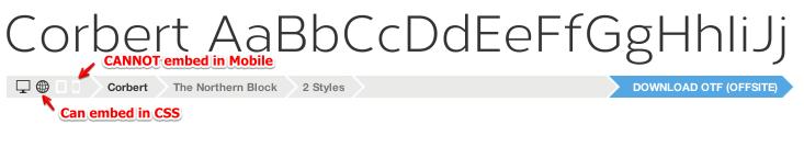网页设计新趋势:我所知道的关于web字体的一切