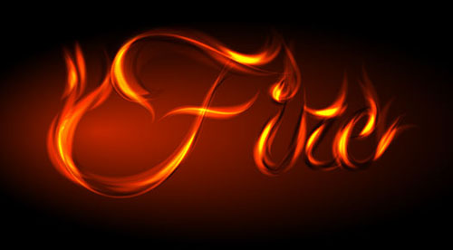 How to Fire Up Your Designs Using This Awesome Vector Fire Text Effect