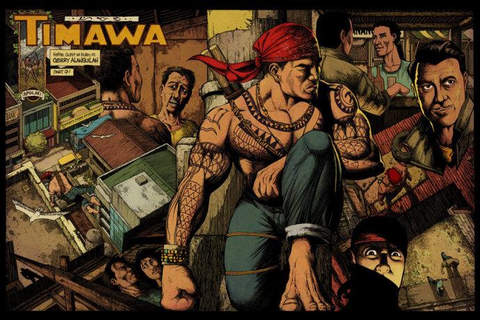 你一定见过他!揭秘QQ表情帝菲律宾漫画家G·A