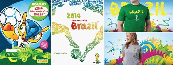 易起狂欢!2014巴西世界杯主视觉创作随笔