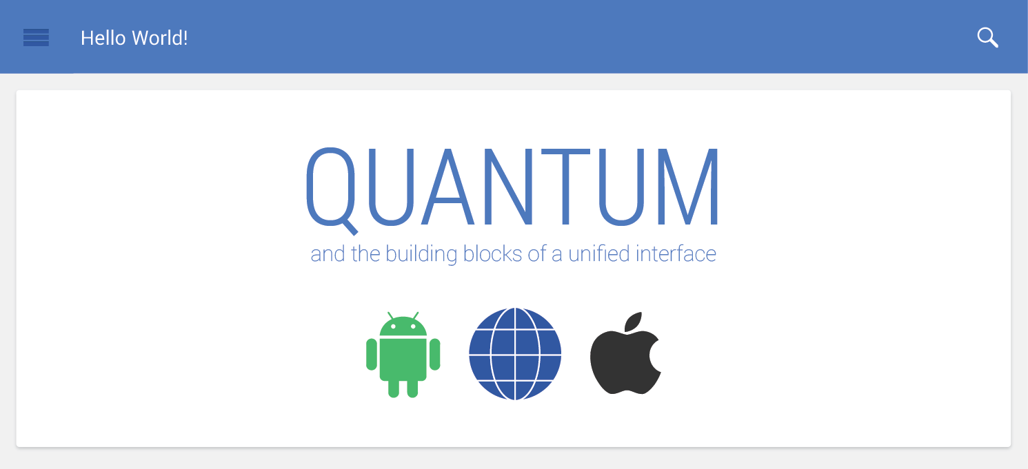 设计师福音!Google可能推出全新设计规范Quantum Paper