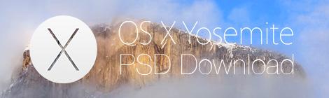 周末福利!MAC OS X YOSEMITE(优胜美地)界面PSD打包下载 - 优设-UISDC