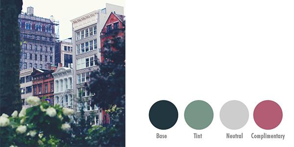 设计师必备取色技巧!教你在PS里通过照片创建色板