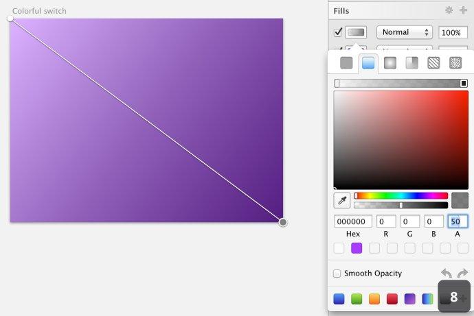 设计师新宠!教你利用sketch创建彩色开关(上)