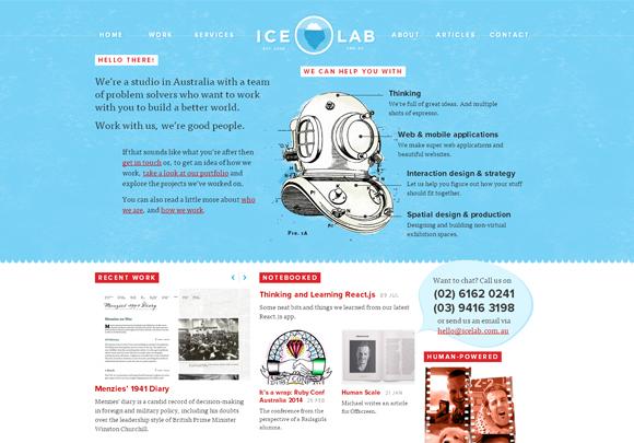 个性分明!25个狂拽帅酷设计工作室网站赏析