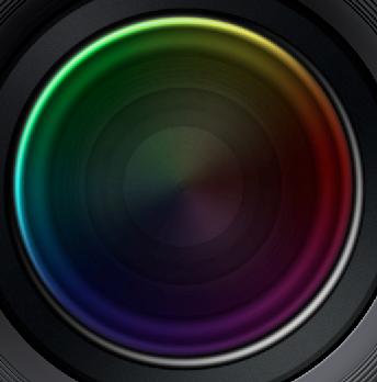 高手教程!用Ps制作细节完美的Apple Aperture镜头