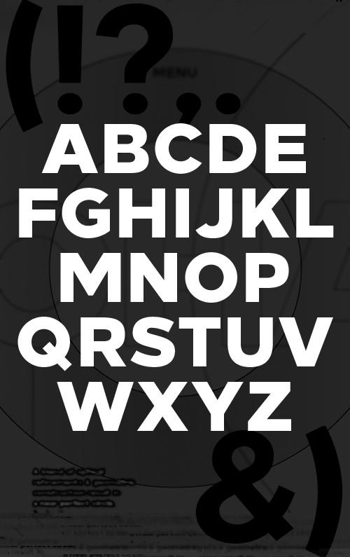 环肥燕瘦!14款新鲜热辣的免费英文字体