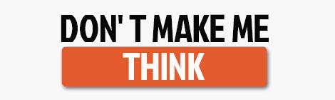 设计师的第一本必读书:《Don't Make Me Think》 - 优设-UISDC
