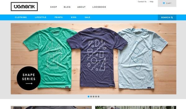 帅Tee来袭!一组另类的t-shirt购物网站欣赏