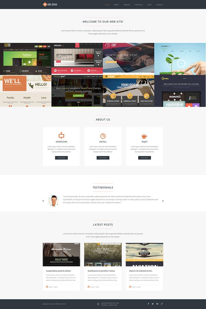 Design Studio Responsive Joomla Template