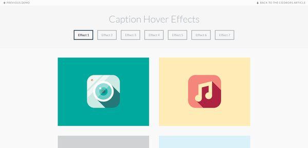 轻松搞定动画!17个有趣和实用的CSS 3悬停效果教程