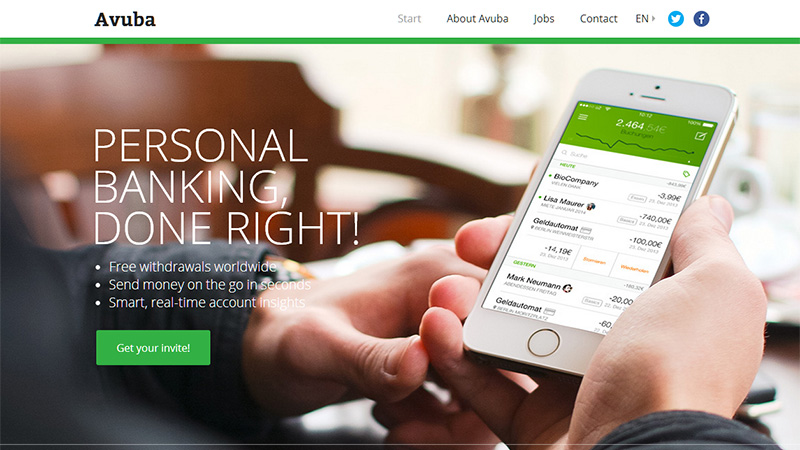 耳目一新!16个精美的创业公司网站设计欣赏