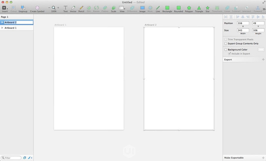 Sketch设计教室!从零开始学APP设计利器Sketch(二)