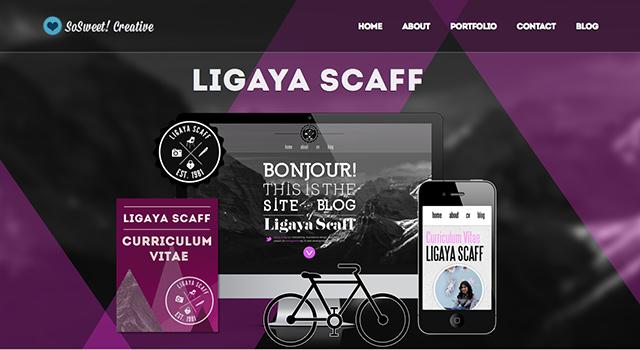 玩转几何!令人眼前一亮的几何元素网站设计