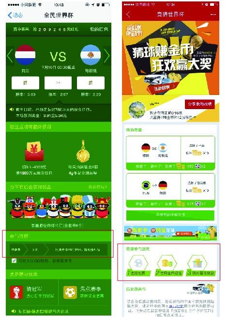 学习专业的设计思路!2014年世界杯竞猜活动设计总结
