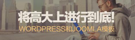 将高大上进行到底!40款WordPress和Joomla模板 - 优设-UISDC
