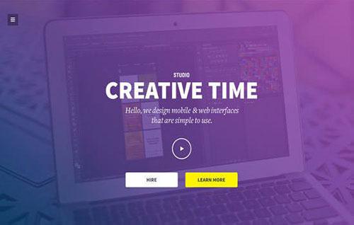 高手作品!21个布局超赞的欧美网页设计模板PSD打包下载