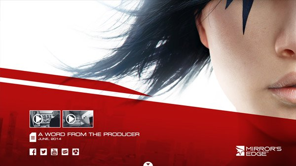 Mirror's Edge 网页设计欣赏