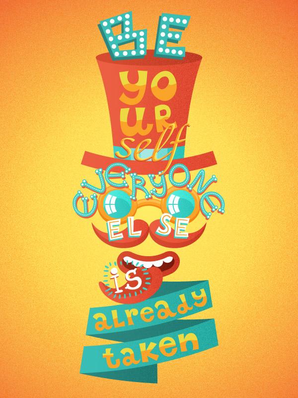 AI教程!教你用Illustrator设计俏皮大胆的疯狂复古海报