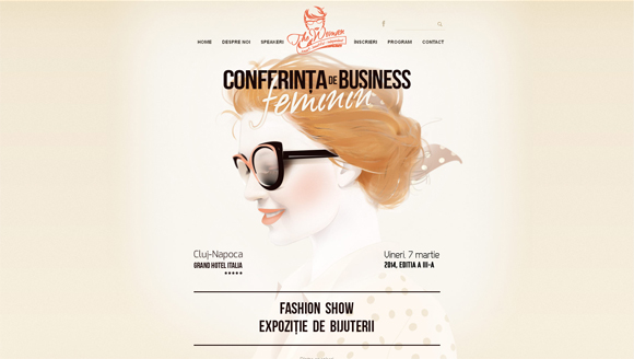 优雅有范儿!15个色调柔和的优秀网站设计示例