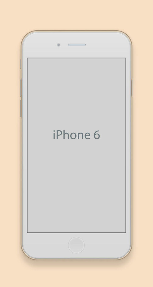 Free iPhone 6 and iPhone 6 Plus Mockup Templates (PSD, AI & Sketch) - Free Download - 48