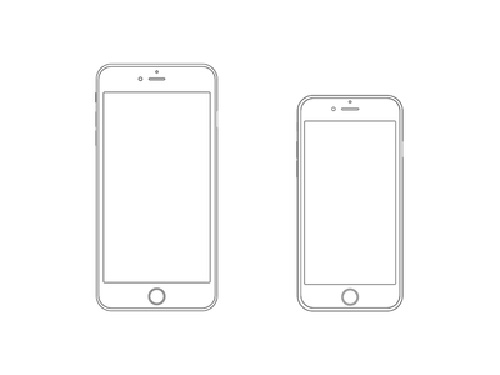 Free iPhone 6 and iPhone 6 Plus Mockup Templates (PSD, AI & Sketch) - Free Download - 5