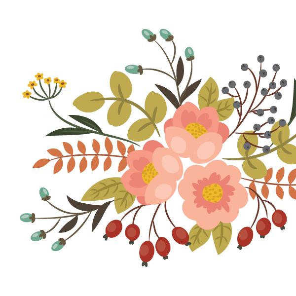 AI教程!如何在Illustrator中绘制典雅的复古花艺作品