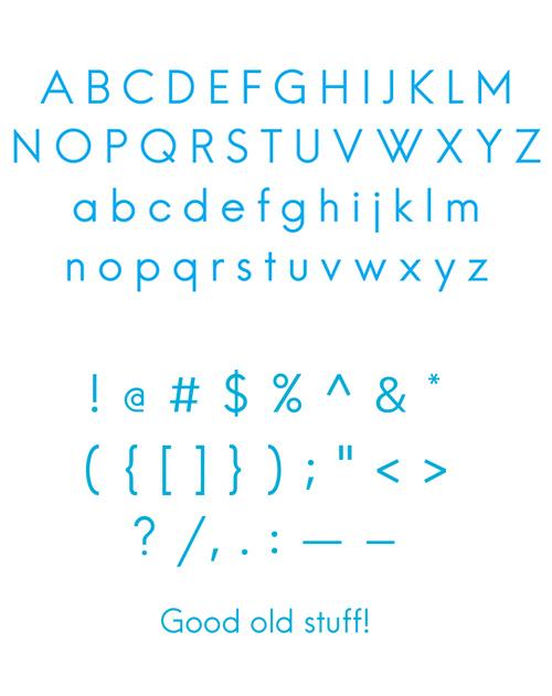 免费可商用!15款高质量的英文字体打包下载!