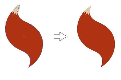 AI教程!手把手教你绘制复古风格的可爱卡通小狐狸