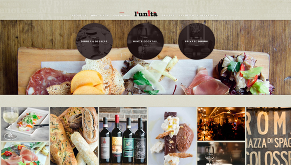 30 Tasty Websites of Cafes and Restaurants