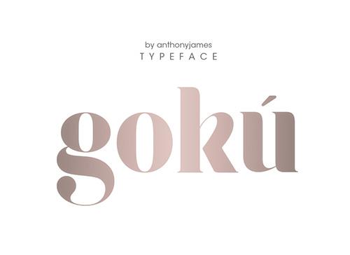 Goku Free Font