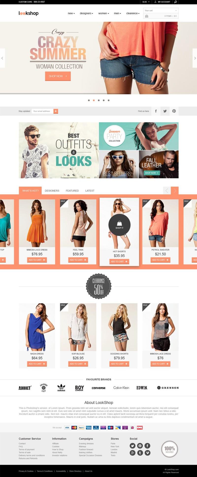 LookShop-Template