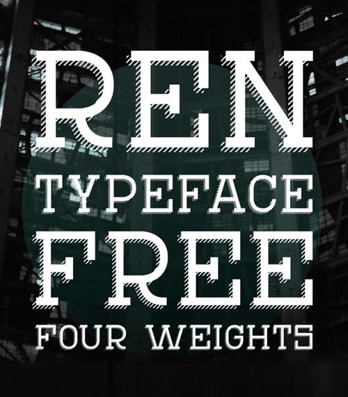Ren+font+free+download