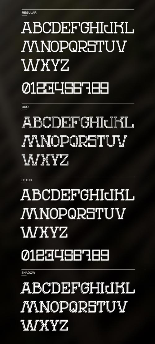 REN Typeface Free Font