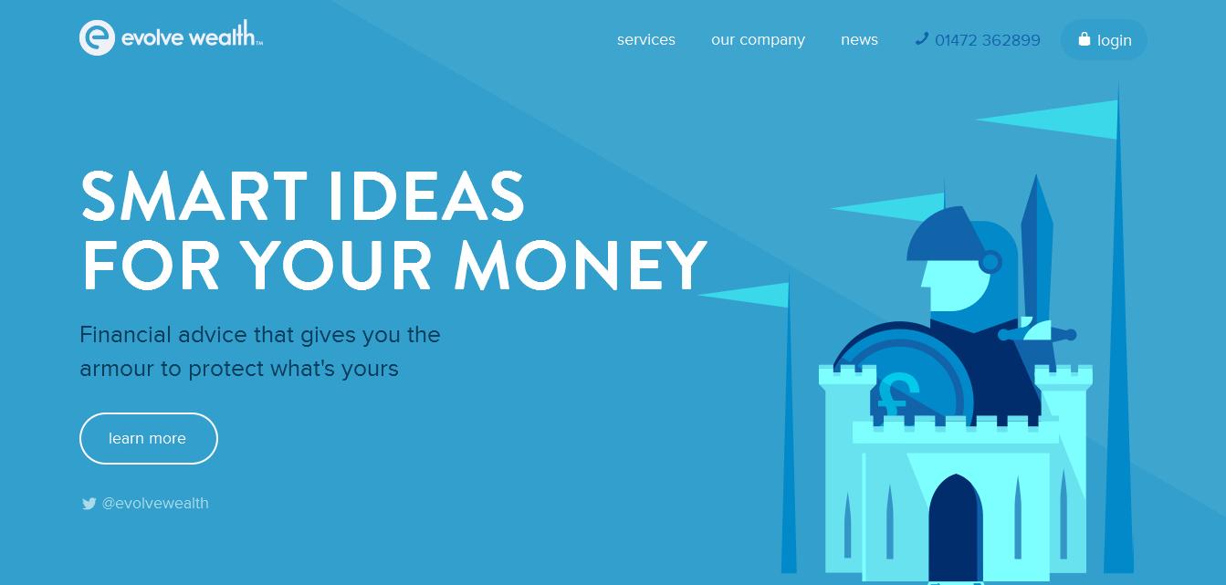 色彩中的雅痞!26个优雅的蓝色网站设计