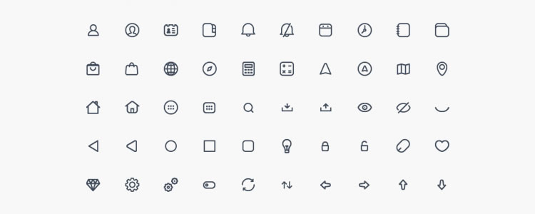 Compacticons - 180 Tiny Icons