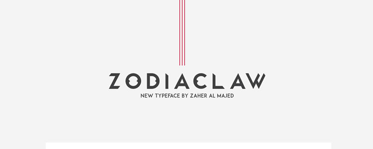 Zodiaclaw Humanist Typeface