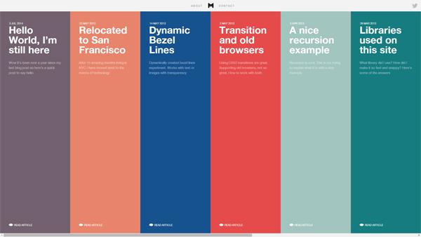 超越传统思维!20个创意惊人的时间轴展示网站设计