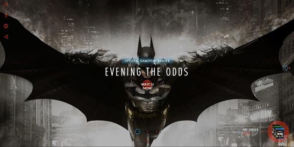 02 impressive promotional websites batman 20 Impressive Promotional Website Designs