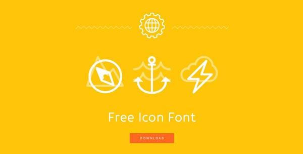 08 impressive promotional websites freeiconfont 20 Impressive Promotional Website Designs