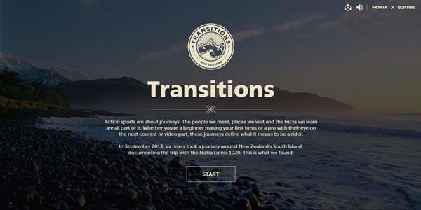 09 impressive promotional websites transitions1020 20 Impressive Promotional Website Designs