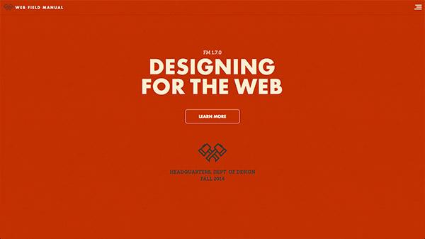 洒一腔热血!35个热烈奔放的红色色调网站设计