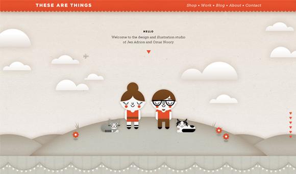 最新的别放过!30个尽显创意的视差滚动网站设计
