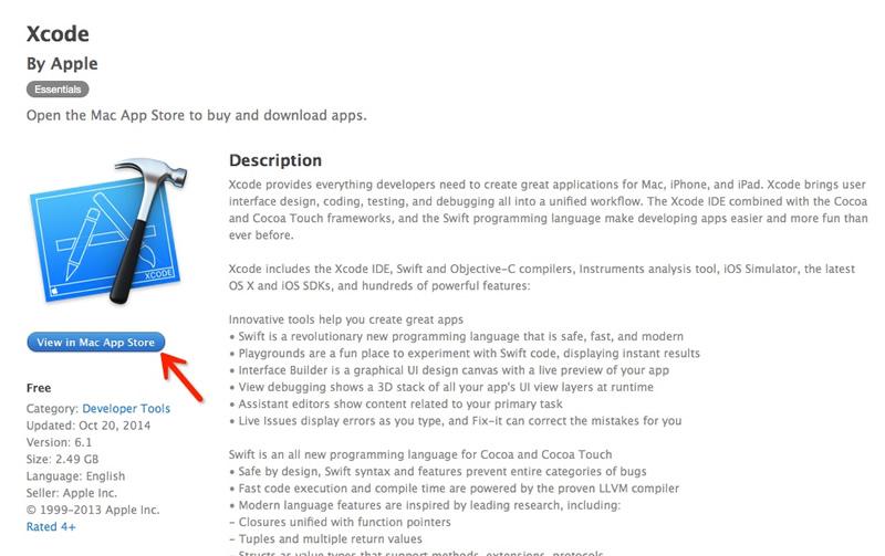 搞定一像素不求人!为设计师量身打造的Xcode教程(1)