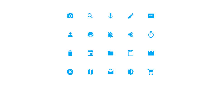 Material Design System Icons by Walmyr Carvalho