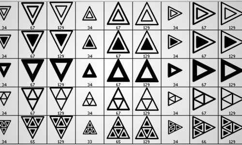 12-free-triangles-brushes