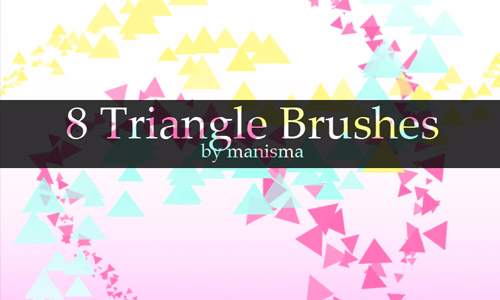3-cool-triangle-brushes