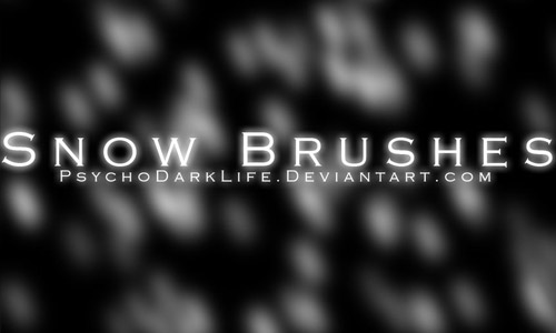 cool snow brushes free