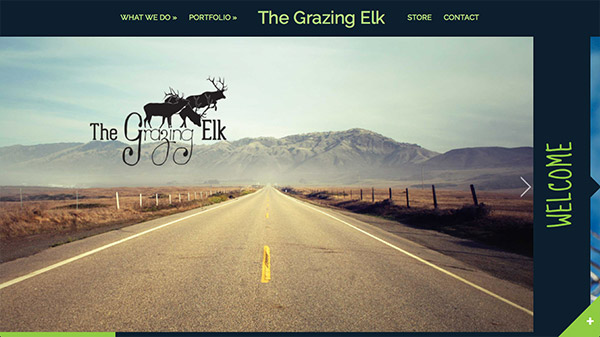 The Grazing Elk