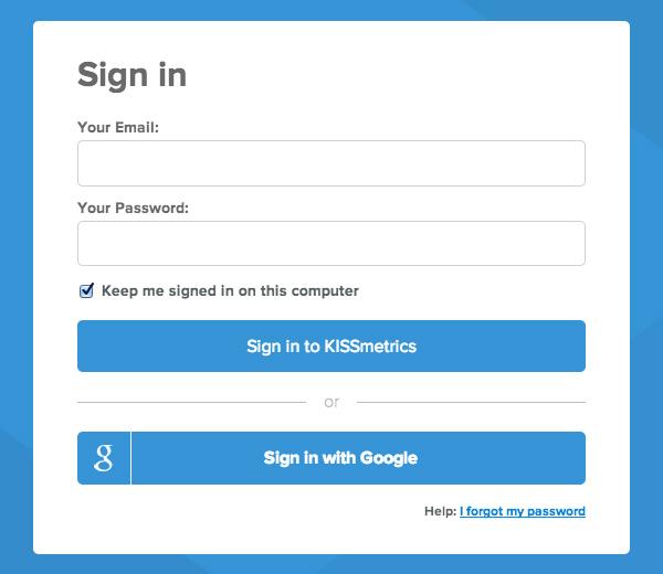 网站入门必备!5种方法帮你提高网站的登录体验